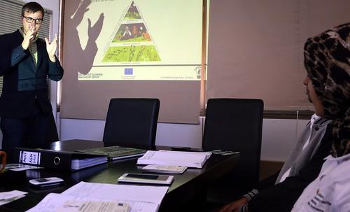 Boris Rantaša presenting Slovenian forestry