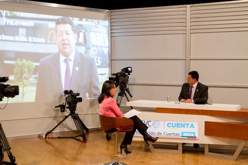 Audiencia de Rendición de Cuentas 2014