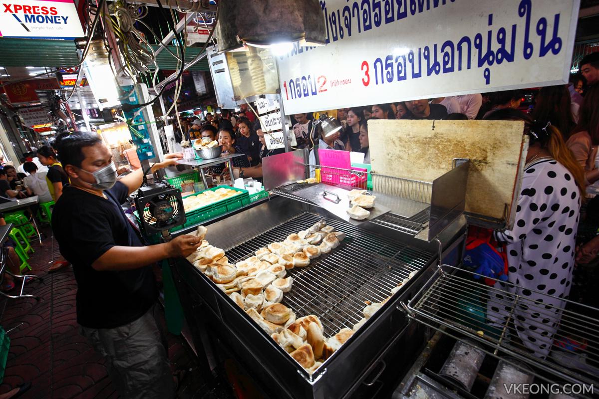Bangkok Chinatown Yaowarat Toast Bread