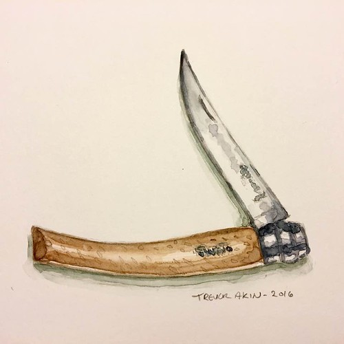 Opinel Slim N8 pocketknife