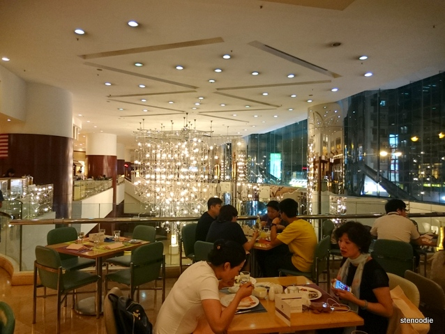 Cafe by the Park at BP International Hotel
