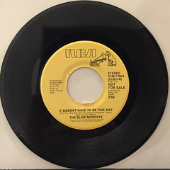 THE BLOW MONKEYS:IT DOESN'T HAVE TO BE THIS WAY(RECORD SIDE-A)