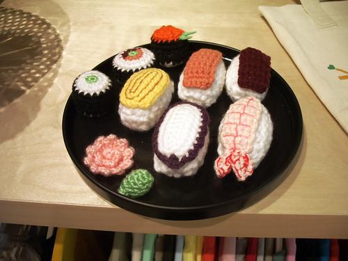Amigurumi Sushi set by Christen Haden (Usa) Dudua - c ...