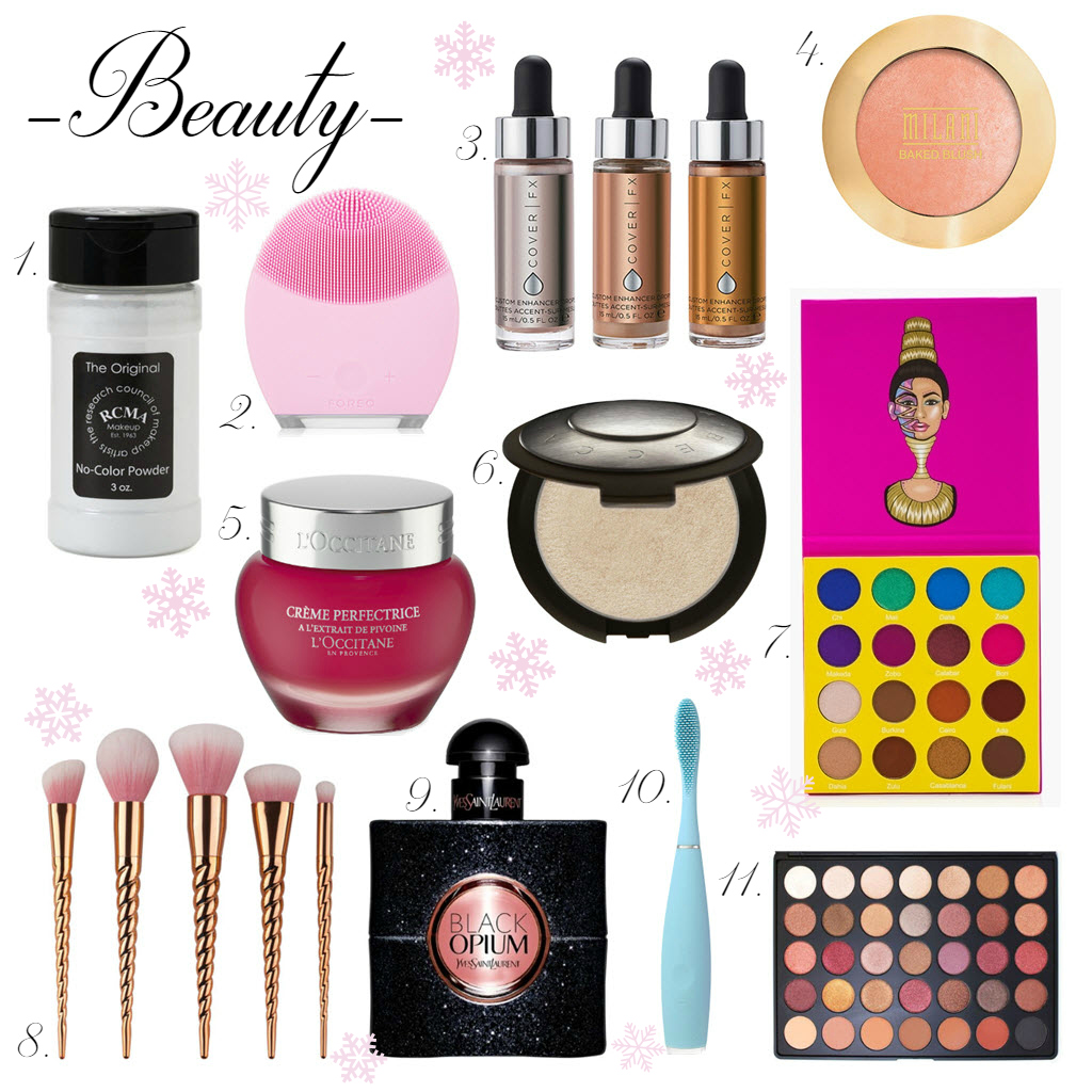 Beauty Christmas wishlist