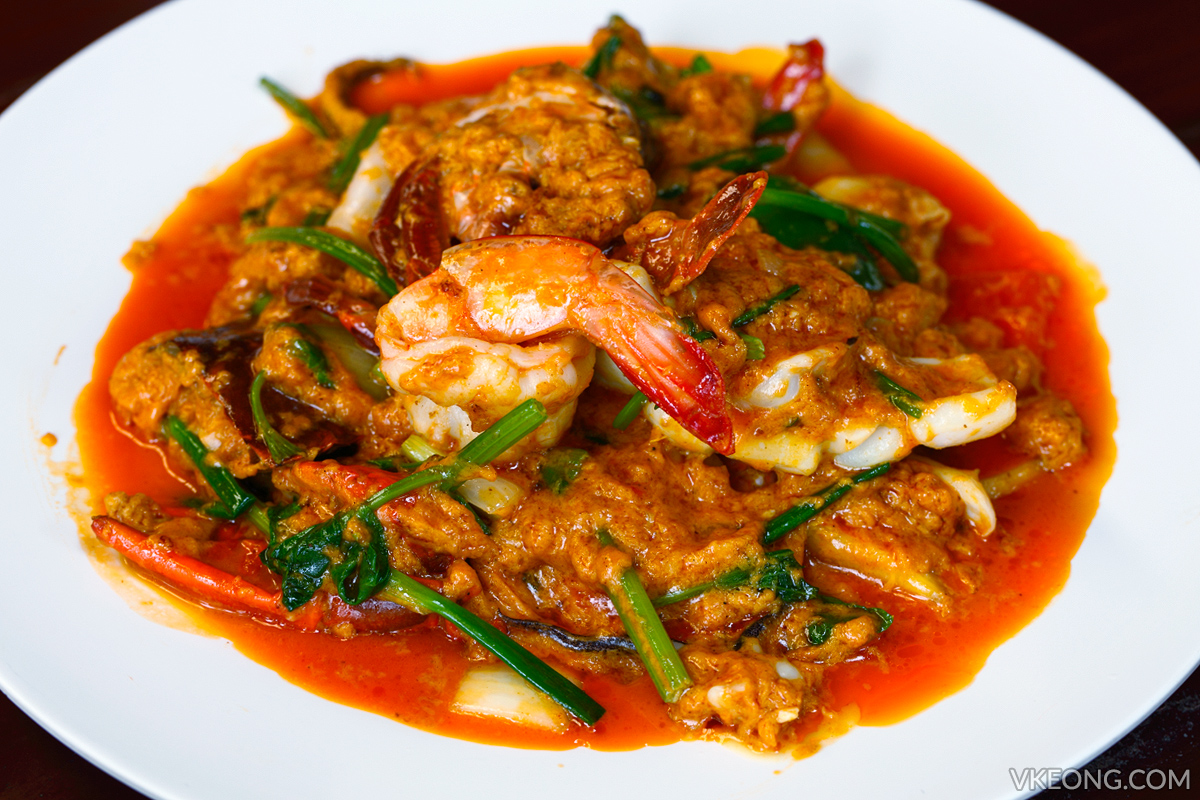 Pupen Red Curry Seafood