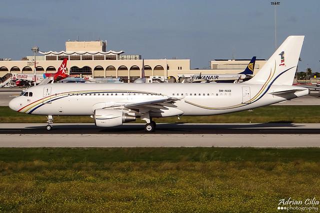Malaysia Air Force --- Airbus A320CJ --- 9M-NAB