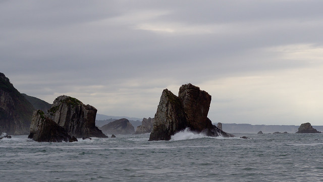 Asturian cloudy rocks