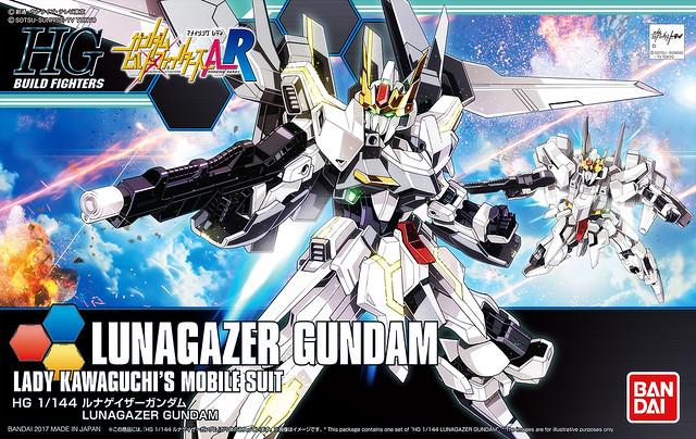 HGBF Lunagazer Gundam - Box Art