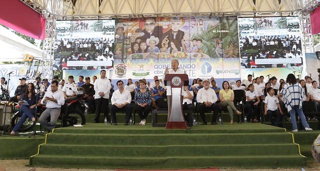 Festival para el Buen Vivir y Gobernando con la Gente El Paisnal