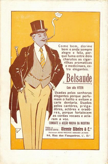 Ilustração Portugueza, nº472, 1915 - back cover