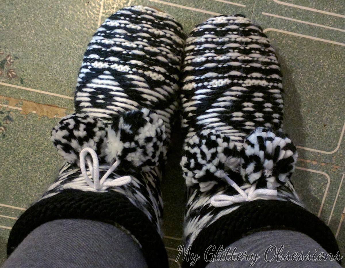 La Senza slipper boots