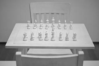 Playing Chess with Yoko Ono