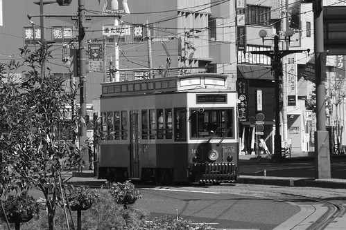 Tramcars at Kagoshima on OCT 24, 2015 (17)