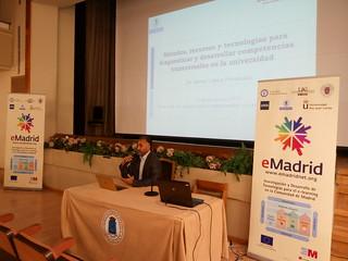 """2015-11-13 Seminario eMadrid """"Competencias transversales a través de eLearning"""""""