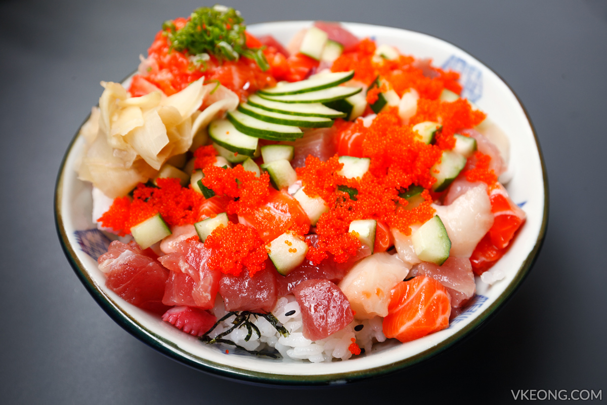 The Fat Fish Bara Chirashi don
