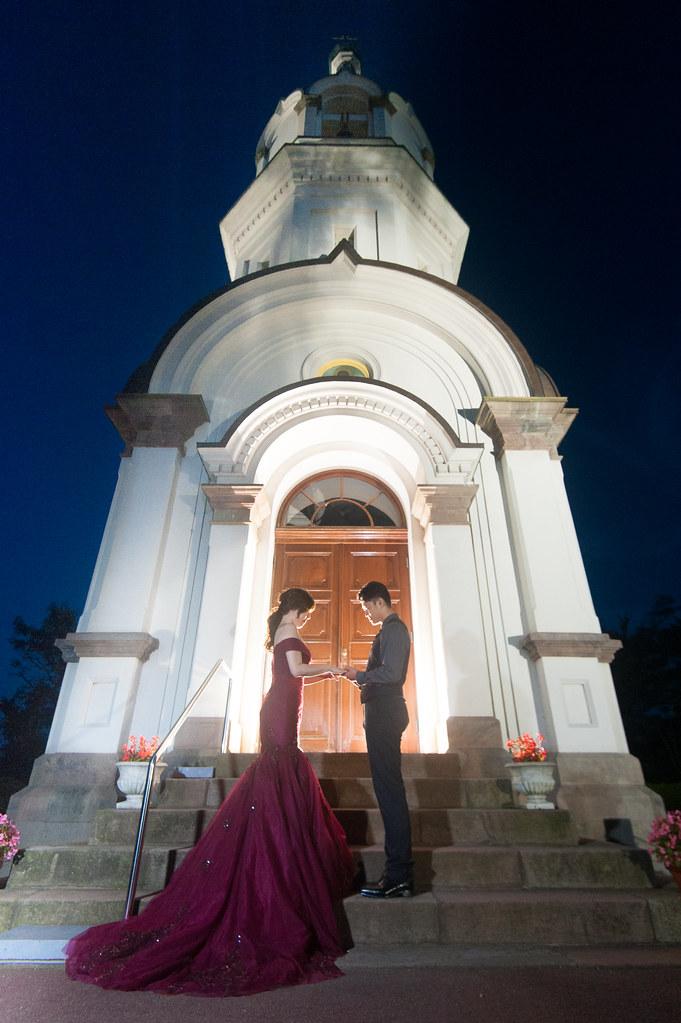 函館東正教堂婚紗,函館夜景婚紗
