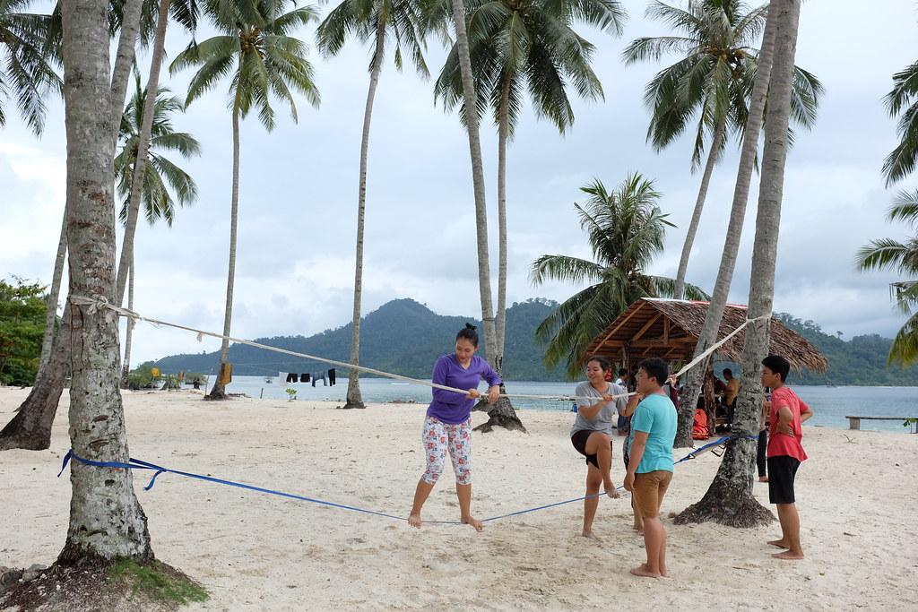 Playing around Pasumpahan Island #pasumpahanisland