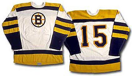 Boston Bruins 1954-55 jersey