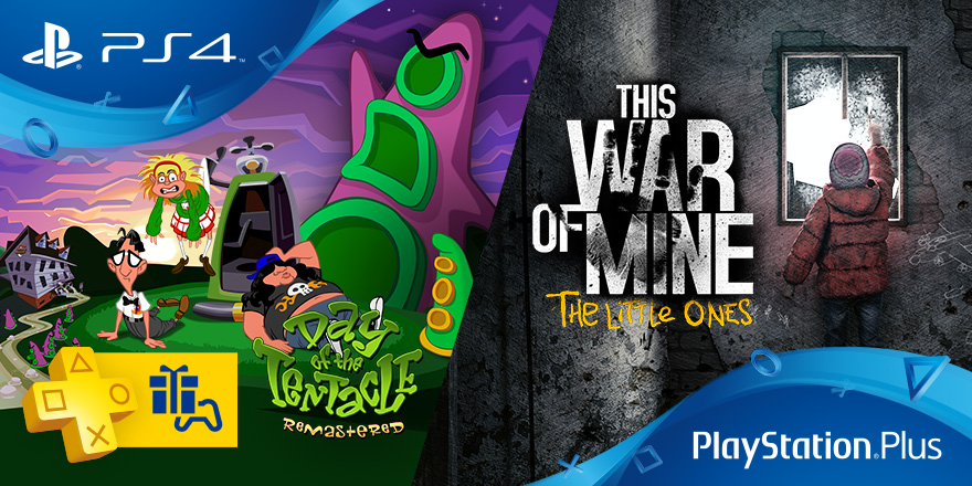 This War Of Mine The Little Ones Y Day Of The Tentacle Remastered