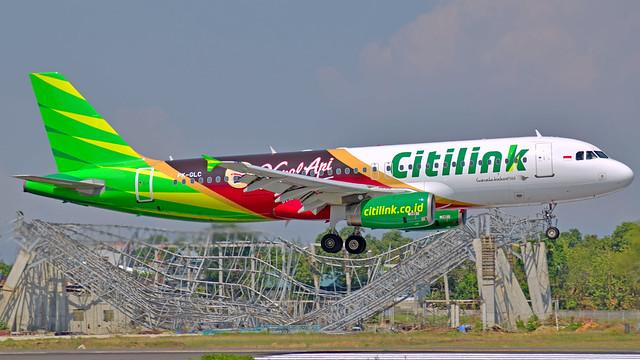 Citilink A320-233 PK-GLC
