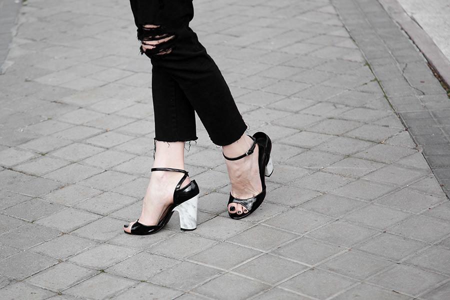 DIY Tacones de mármol · DIY Marble heels · Fábrica de Imaginación · Tutorial in Spanish