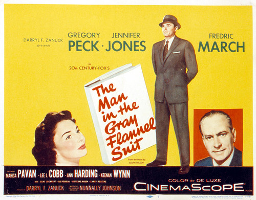 The Man in the Gray Flannel Suit - Poster 1