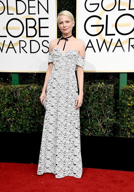 Michelle Williams Golden Globes