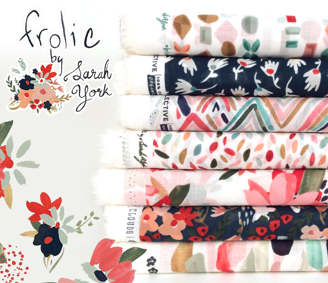 Cloud9 Fabrics Frolic Collection by Sarah York