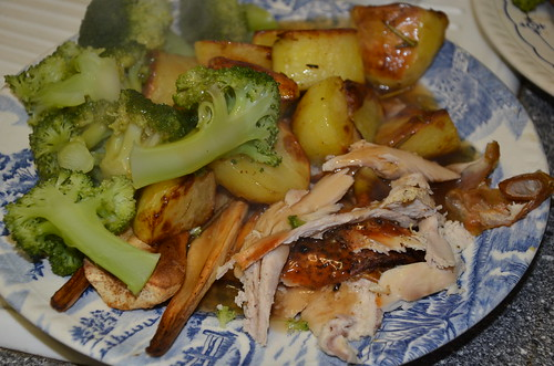 roast chicken dinner Jan 17