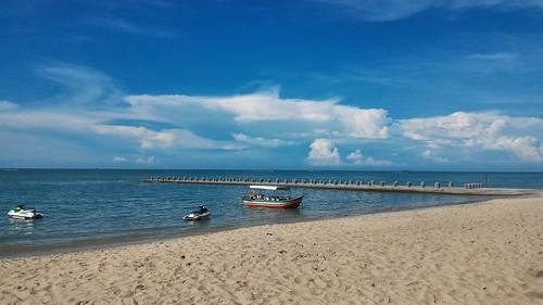 Beach near Bayview Hotel, Batu Ferringhi, Malaysia