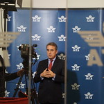 Alexandre de Juniac - TV interview