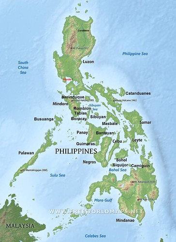 philippines-physical-map