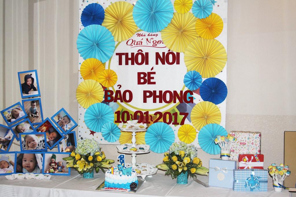 Sinh nhật bé Bảo Phong 10/01/2017