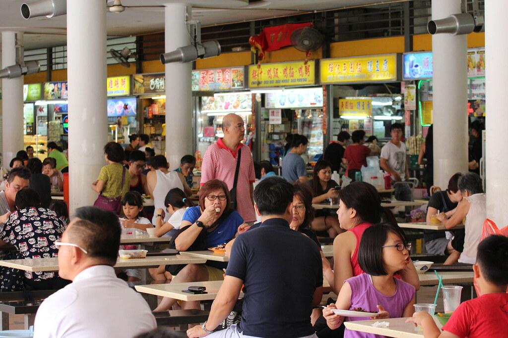 Tiong Bahru Market ja Food Centre