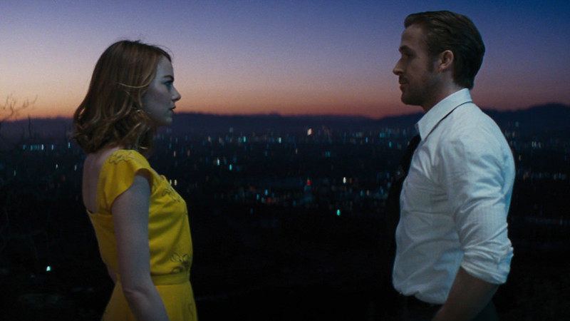 Emma Stone and Ryan Gosling's charms fly off the screen in LA LA LAND.