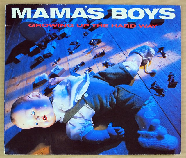 "MAMA'S BOYS GROWING UP THE HARD WAY 12"" LP VINYL"