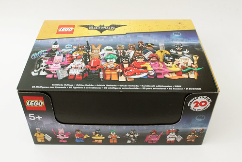 The LEGO Batman Movie Collectible Minifigures (71017)
