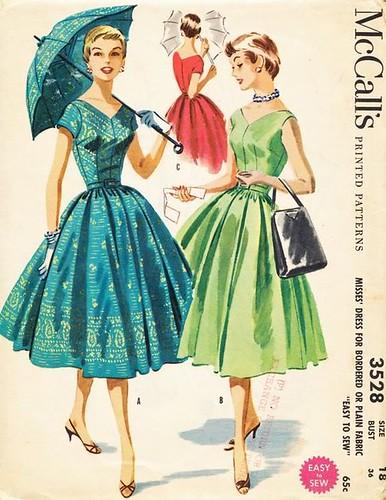 50s tea dress