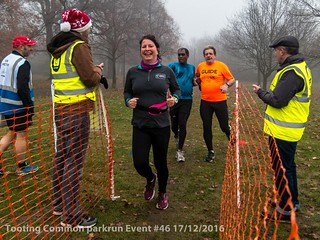 Tooting Common parkrun event #46 17/12/2016