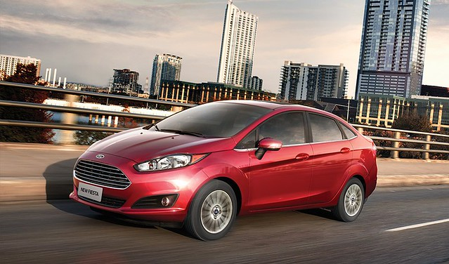 Ford New Fiesta Sedan 1