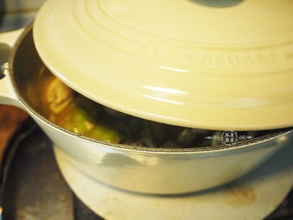 孤身廚房-滿滿新鮮香料版的泰式綠咖哩雞23