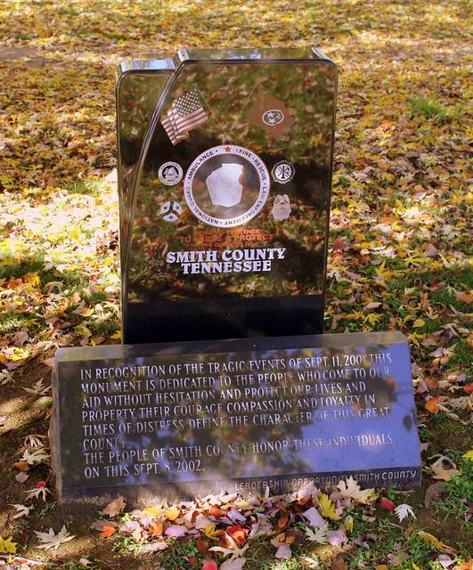 Smith County, TN September 11, 2001 Monument