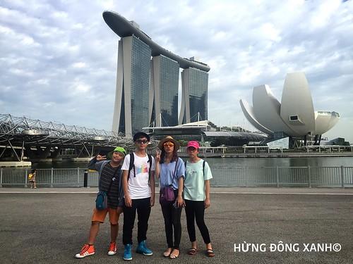 du học hè Singapore cùng Hừng Đông Xanh chất lượng