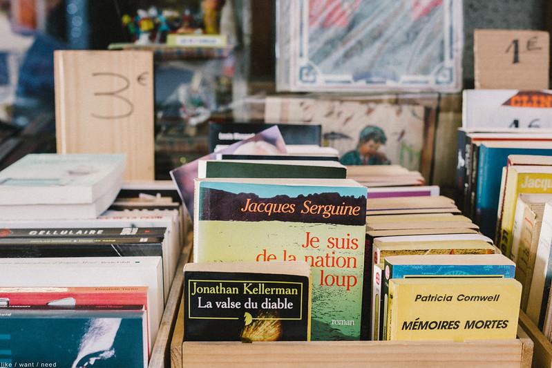 Librarie, Rue des Martyrs