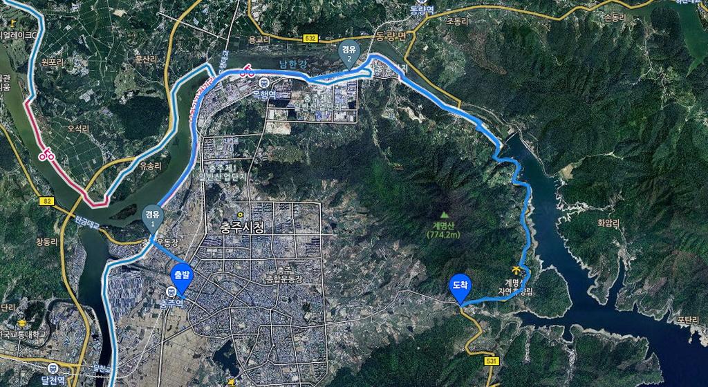 (1) Chungju-Majeumak Pass