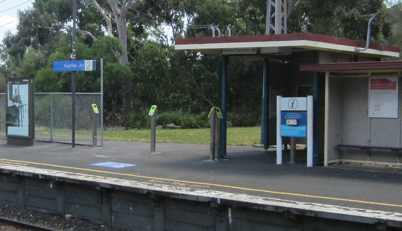 Melbourne Zoo - Royal Park station