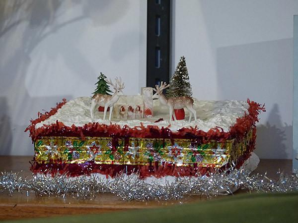christmas cake des années 60