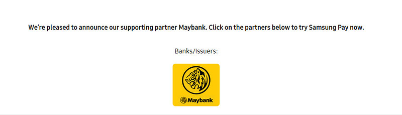 samsung pay maybank