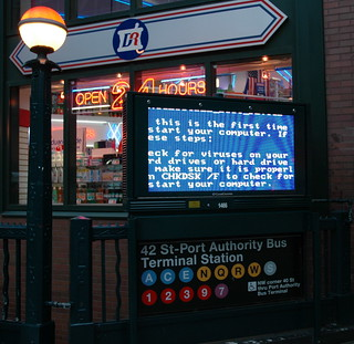 BSOD Ad Display | by mikegoren