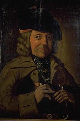 Portrait understood to be James Livingstone, town piper of Haddington | by east_lothian_museums
